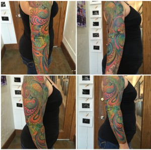 Collage Paisley
